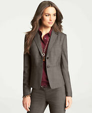 Brand New Ann Taylor Grisaille Jacket Color Gray Size 6
