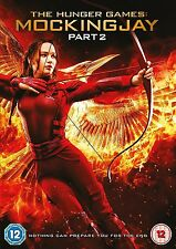 THE HUNGER GAMES MOCKINGJAY PART 2 DVD Jennifer Lawrence Josh UK Brand New R2