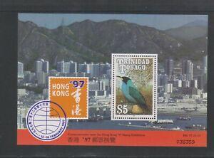 Trinidad & Tobago - 1997, Hong Kong Exh. Bird sheet - MNH - SG MS872