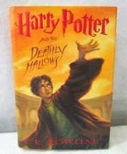 Harry Potter and the Deathly Hallows by J. K. Rowling Hardcover 1st Ed 1st Print