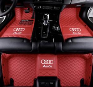 AUDI Floor Mats for A1 A3 A4 A5 A6 A7 A8 Q3 Q5 Q7 S3 S4 S5 S6 S7 S8 R8 TT SQ5