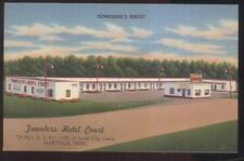 Postcard MARYVILLE Tennessee/TN  Travelers Tourist Motel Motor Court 1930's