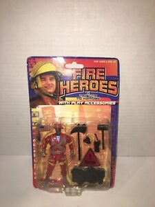 Fire Heroes Action Figure A Tribute to Heroes with Accessories