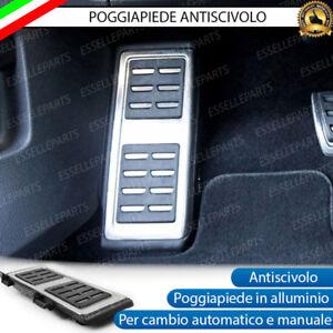 POGGIAPIEDI POGGIAPIEDE PER PEDALIERA AUDI A3 8V, TT FV, Q2, Q8 ANTISCIVOLO