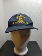 Vintage John Deere Kc Hats Snapback Hat Cap Smith Tractor & Equipment Co. Inc.