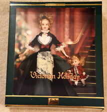 Victorian Holiday Barbie and Kelly - Nib + outer sleeve - Limited Edition