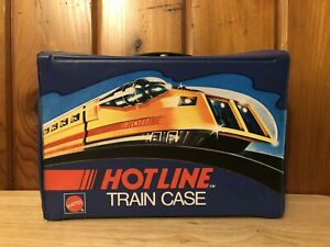 1970 Hot Wheels HotLine Railroad Trains Speed Chief Case W/ Trays Only NO trains