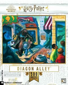 Harry Potter Diagon Alley 500 Piece Puzzle 457mm x 610mm (nyp)