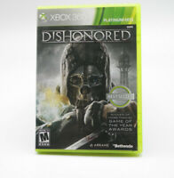 Dishonored  Microsoft Xbox 360 Platinum Hits TESTED FREE SHIPPING