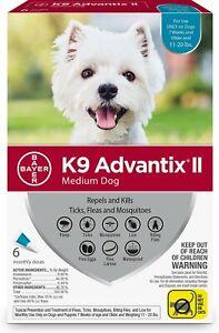 K9 Advantix II Flea & Tick Spot Treatment for Dogs, 11-20 lbs ( 6 Pack )