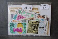Echecs, 50 timbres thématiques, tous différents