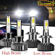 For Suzuki Reno 05-08 H7 H1 LED Headlight 6500K 12000LM Hi Low Beam Bulbs Combo