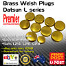 Brass Welch Welsh Core Freeze Plug Set Fits Datsun Nissan L Series Engine L28