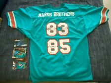 MARK DUPER MARK CLAYTON Autographed Signed Marks Brothers Jersey Miami SI & ENV