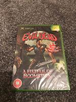 Brand New Evil Dead A Fistful Of Boomstick Original Microsoft XBOX Game PAL