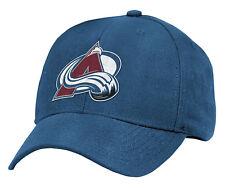 COLORADO AVALANCHE NHL HOCKEY REEBOK Structured Adjustable Hat Cap ADULT NWT