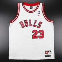 Vintage NIKE Chicago Bulls Michael Jordan 23 Jersey Flight 8403 Mens Size XL