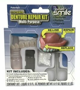 Instant Smile Complete Denture Repair Multi-Purpose Kit