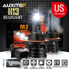 2pcs H13 9008 10000LM 6000K White CREE LED Headlight bulbs High/Low Beam Light