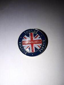Iron Maiden Trooper Beer - Light Brigade (Help for Heroes) Enamel Pin Badge .