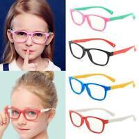 Blue Light Glasses Anti-UV Goggles Computer Phone Flat Plastic Children Lig E1B1