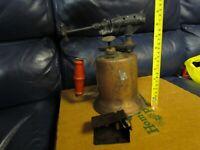 Vintage Antique Turner Brass Soder Torch Gas Blow Torch (6)