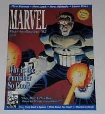 Marvel 1992 The Year in Review Vol 1 #4   (Marvel Magazine 1992) Very Fine Plus