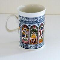Dunoon Christmas Mug Scotland Holiday Table Setting Decor