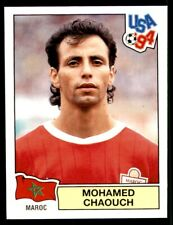 PANINI USA '94 (INT VERSION) MOHAMED CHAOUCH MOROCCO No. 412