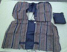 1987 91 Ford Truck Seat Cover Navy Saddle Blanket Seat With Internal Arm Rest