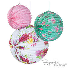 FLORAL PAPER LANTERNS -Vintage Style Decoration- TRULY SCRUMPTIOUS RANGE IN SHOP