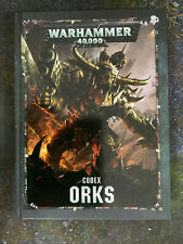 Warhammer 40k Codex Orks - Not In Shrink, But Never Used