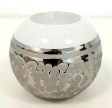 Windlicht Kugel Ø 11 cm mit Sternen handbemalt Keramik orientalisch Handarbeit