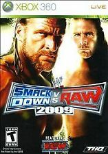 NEW SEALED WWE SmackDown vs. Raw 2009 Featuring ECW (Microsoft Xbox 360, 2008)