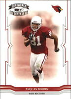 2005 Throwback Threads Football Base Singles (Pick Your Cards)