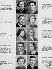 1940 Des Moines North High School Yearbook~Photos~History~Sports~Candids~+++++
