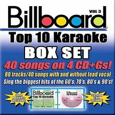 BILLBOARD KARAOKE-BILLBOARD BOX SET V3 CD NEW