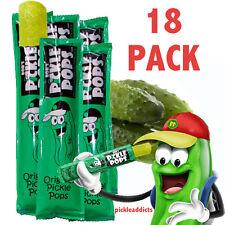 BOB'S PICKLE POPS DILL PICKEL JUICE ICE POPSICLES 18 CT
