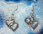 Orecchini pendenti cuore argento colorato SIMBOLO der Liebe GANCIO 925 Nr 5
