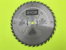 """Ryobi 969196001 10 Inch 36-Tooth Carbide Saw Blade 5/8"""" Arbor"""