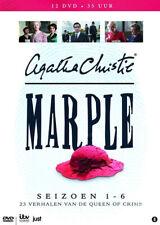 Agatha Christie's Miss Marple - Seasons 1-6 NEW PAL 12-DVD Set Geraldine McEwan
