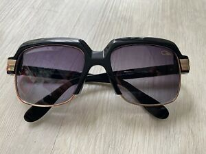 Cazal Legends 607 Black & Gold Sunglasses