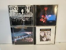 DEPOCHEMODE CD LOT OF 4 Violator, Ultra, Barrel Of A Gun, Catching Up WIth