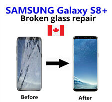 Samsung Galaxy S8+Plus Cracked Glass ONLY/Working LCD mail-in Repair Service