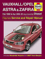 Astra Car Manuals and Literature