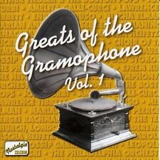 GREATS OF THE GRAMOPHONE- NEW CD