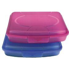 2x Brotdose Brotbüchse Butterbrotdose Brotzeitbox Lunchbox Box Vesperdose Kinder