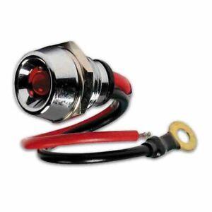 Spia a led ROSSO 12/24V Illuminazione estetica Luci Interni Auto tuning
