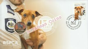 PNC Australia 2021 Dog RSPCA 150 Years Caring & Protecting RAM $1 Coloured Coin