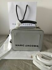 Marc Jacobs The Mini Box Bag Crossbody Swedish Grey leather Bag Hot sales